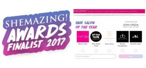 Melo Yelo Nominated in Top 5 Hair Salons Of The Year