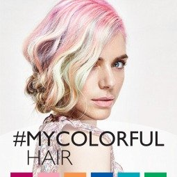 #Colorfulhair Trends