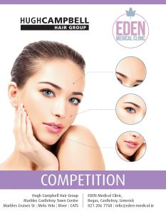 Reveal a New You with the Latest Hugh Campbell Competition