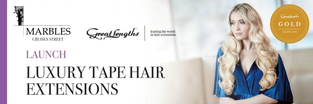 Great Lenghts Hair Extensions Specialist Hugh Campbell