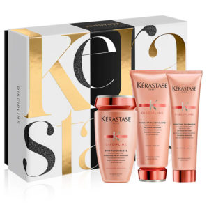 kerastase discipline luxury gift set for frizzy hair
