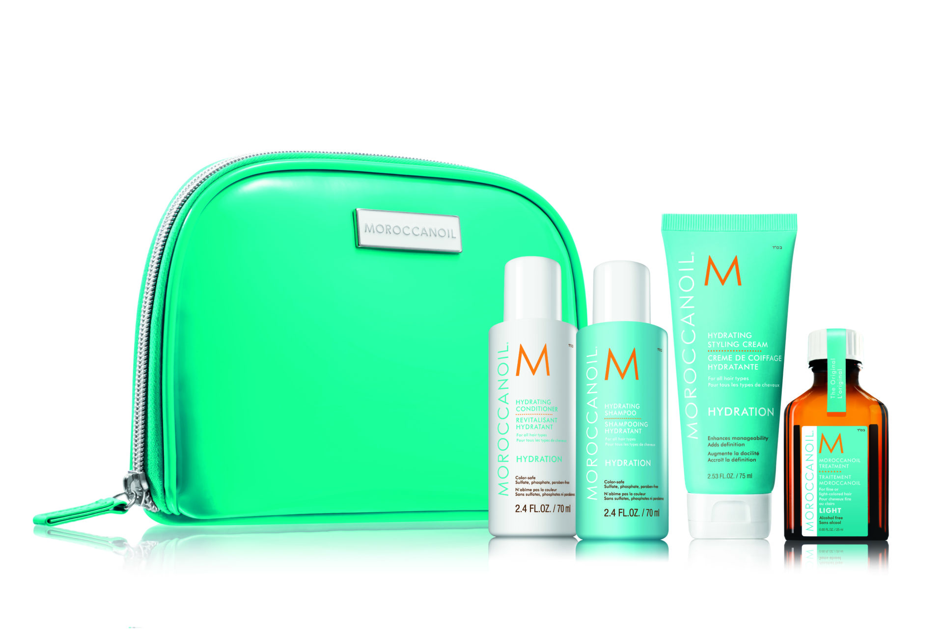 Moroccanoil Travel Bag Hair Care Gift Set Limerick Hair salons