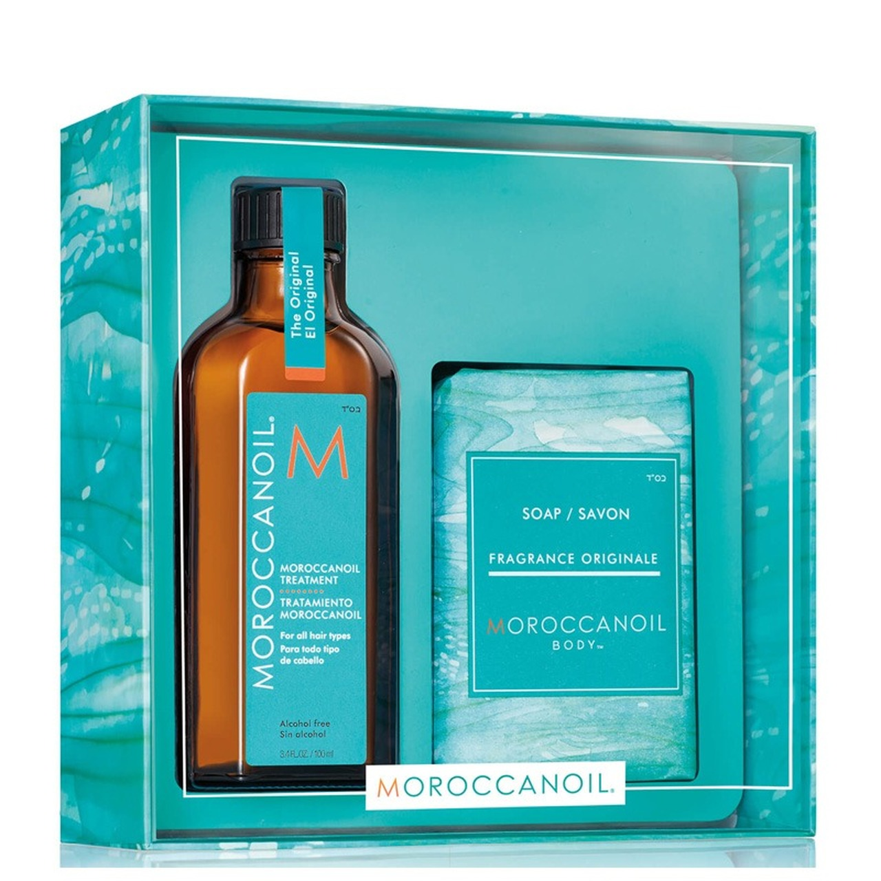 Moroccanoil Treatment Oil 100ml with FREE Soap Christmas Gifts at Hugh Campbell Limerick Hair Salons