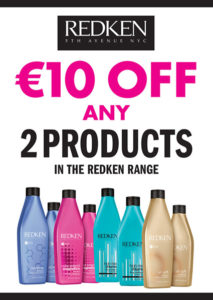 January Redken Hair Product Sale at Limerick Hairdressers