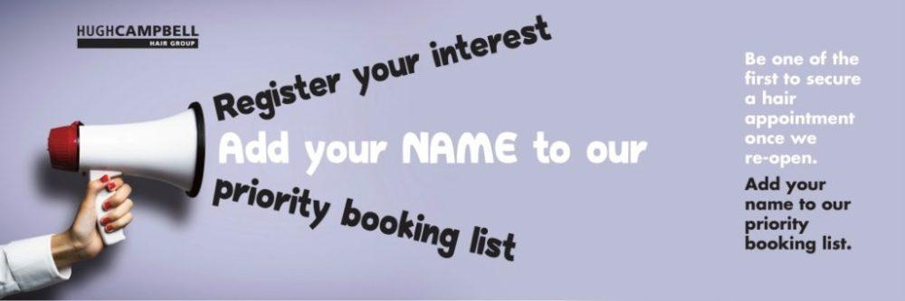 Priority Booking Grey