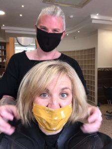 Post Covid Hair Salon Visit to Hugh Campbell Hair Group Limerick