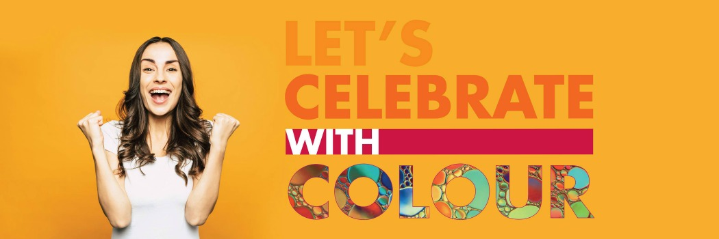 Let's Celebrate with Colour