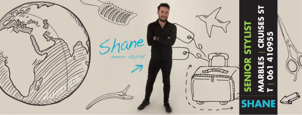 Shane Senior Stylist at Marbles Hair & Beauty