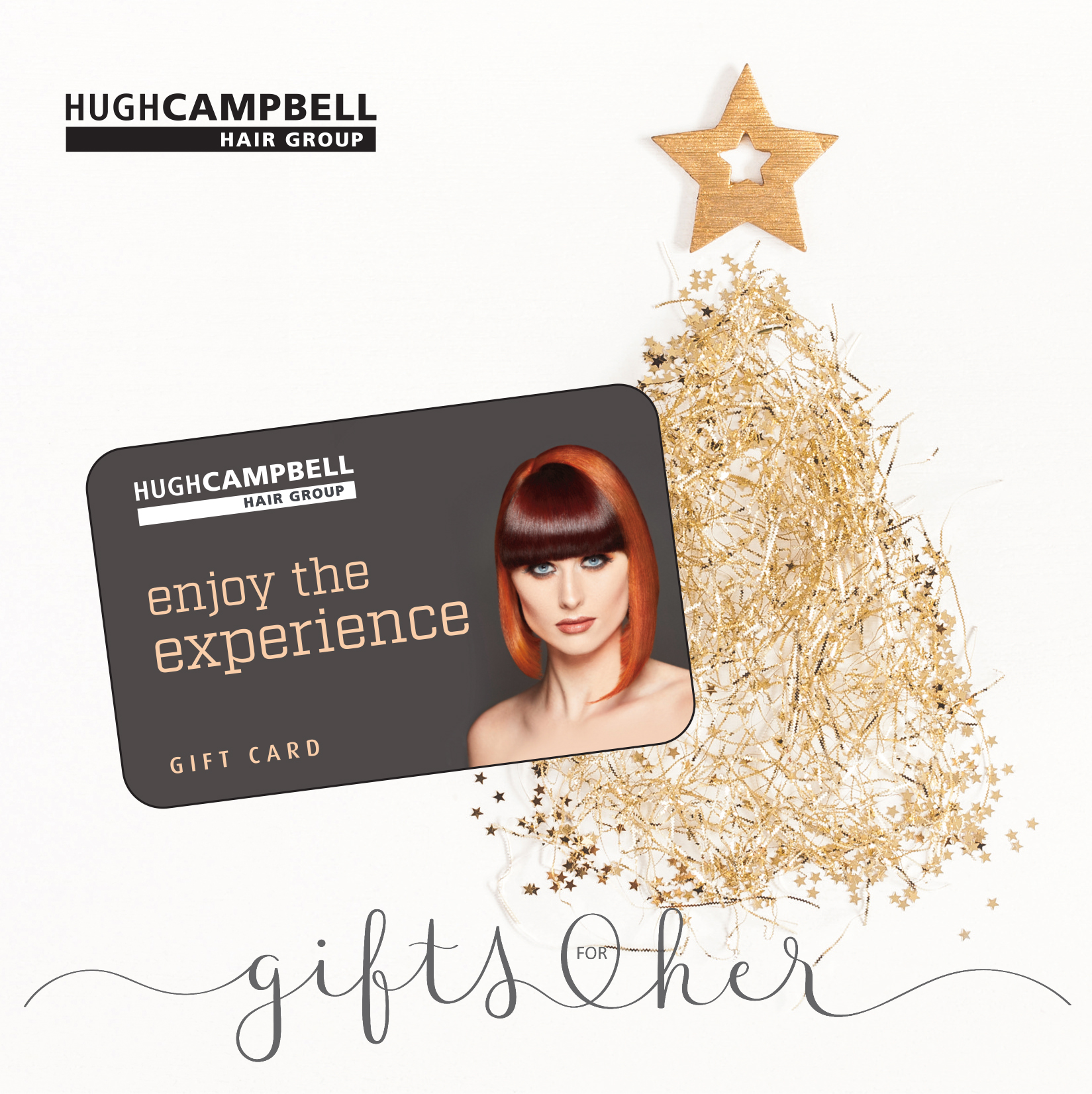 Hugh Campbell Hair Group Limerick Gift Cards available online