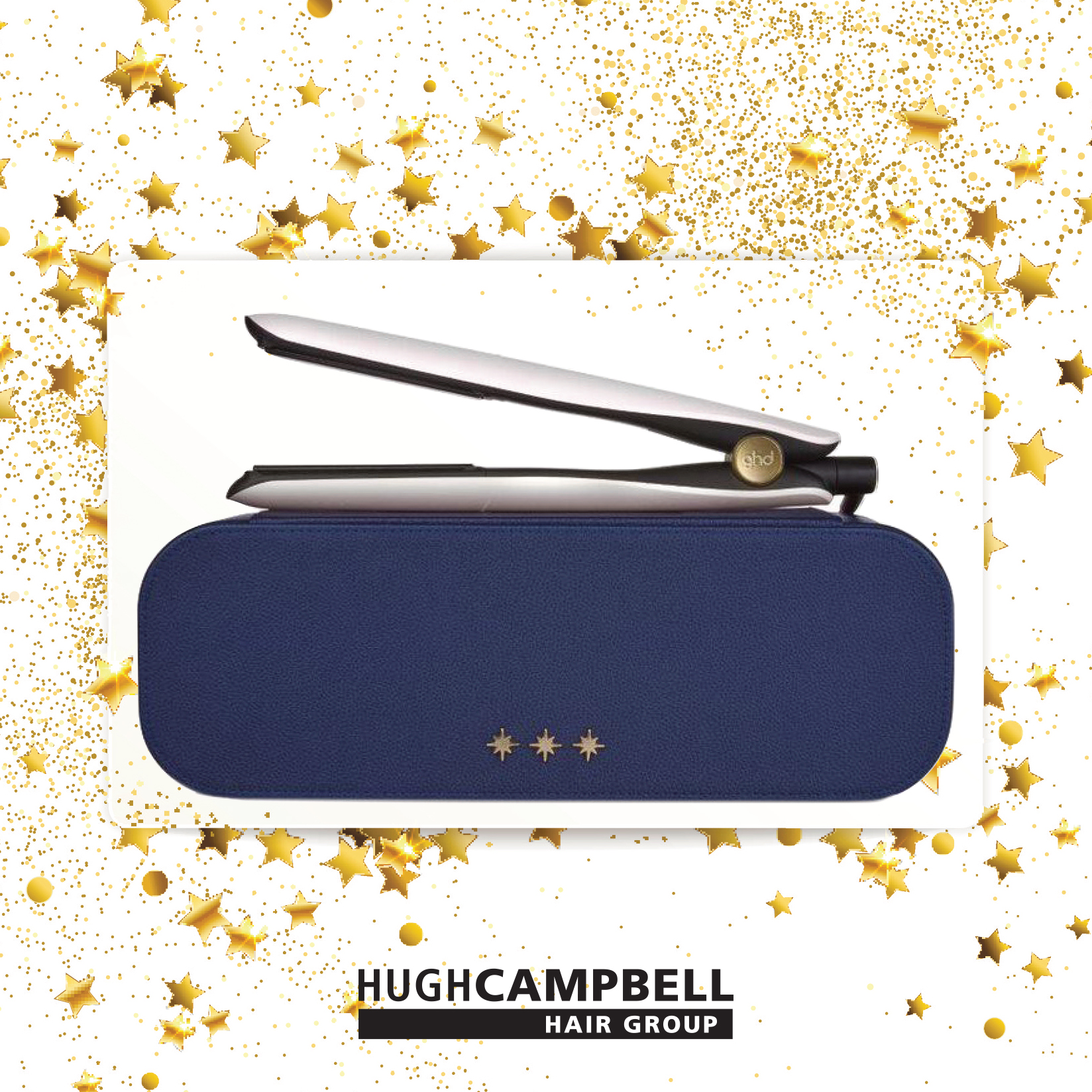 ghd gold christmas gift set 2020 available online Hugh Campbell Hair Group