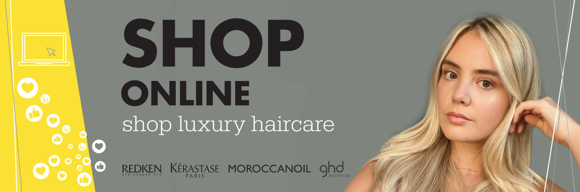 We're Open Online - Shop Luxury Haircare