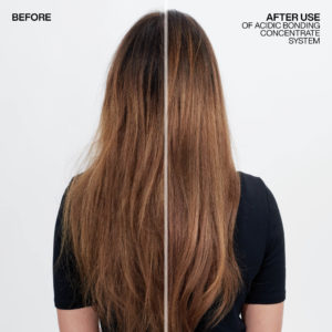 Redken Acidic Bonding Concentrate Before After