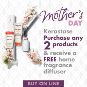 Kerastase Offer Mother's Day Shop Online at Hugh Campbell Hair Group