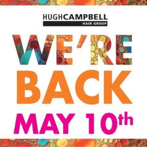 Hugh Campbell Limerick Hair Salons Reopening May 10th 2021