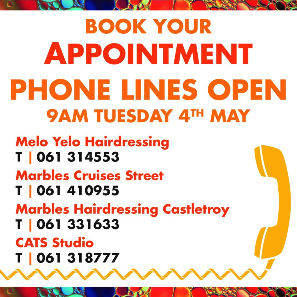 Book Your Appointment Hugh Campbell Hair Group Limerick Hair Salons