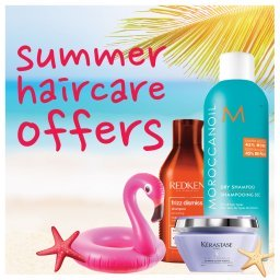 Summer Haircare Offers at Hugh Campbell Hair Group Limerick, Shop Online or Instore