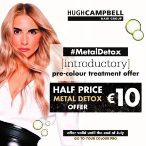 Metal Detox Offer Patch at Hugh Campbell Hair Group