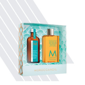 Moroccanoil Treatment Light & Shower Gel Summer Duo Set
