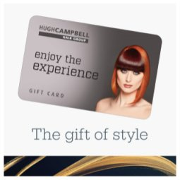 Shop E Vouchers and Gift Cards at Hugh Campbell Hair Group Limerick