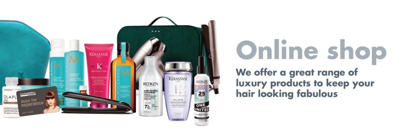 Kerastase Redken Moroccanoil Olaplex Limerick Shop Online at Hugh Campbell Hair Group