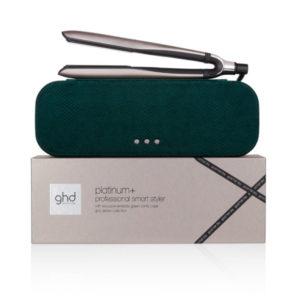 ghd Platinum+ Hair Straightener Gift Set in Warm Pewter